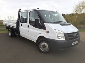 Ford Transit 2.4 TDCi 350 LWB Crewcab Dropside Pickup !!! REDUCED !!!
