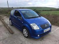 CITROEN C2 FURIO MINISTRY OF SOUND BLUE 1.4 2004 ONLY 39,000 MILES