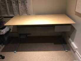 Ikea desk - Birch