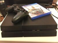 PS4 (Sony Playstation 4) and The Witcher 3: The Wild Hunt