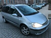 Ford Galaxy 1.9 TDi Ghia MPV *7 Seaters*5dr Diesel Manual,6 speed New mot,Full service,2 keys