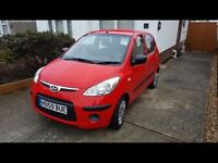 Hyundai i 10 2010 very low mileage one owner fsh showroom car! P-ex welcome aa/rac welcome