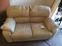 FREE cream sofa and armchair