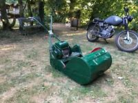 Ransomes Marquis Mower 18'' cut. Powered by BSA Sloper.