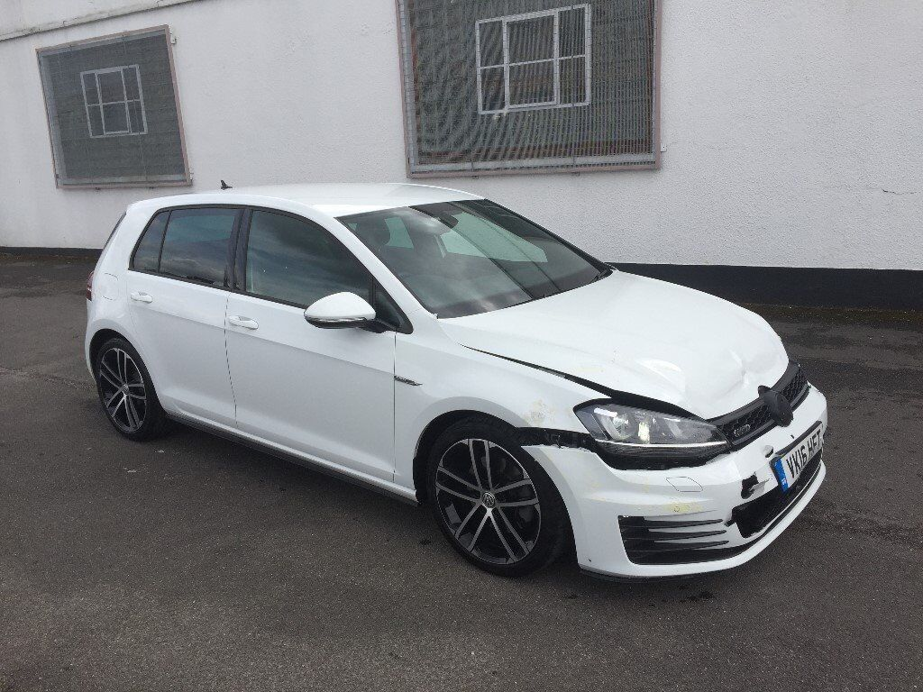 2016 volkswagen golf 2 0 gtd mk7 5 door alpine white. Black Bedroom Furniture Sets. Home Design Ideas
