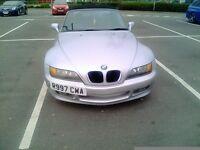 Bmw z3 1.9 petrol 1998 ( R ) reg