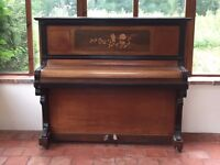 Upright Piano - lovely looking, reasonable condition