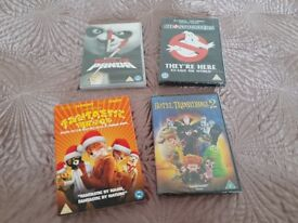New DVD's Fantastic Mr Fox Kung Fu Panda Ghostbusters