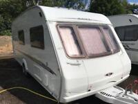 Swift Challenger 4 berth Touring Caravan with end washroom