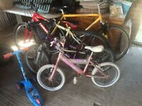 4 bikes for sale spares or repairs Dawes, Claude butler etc