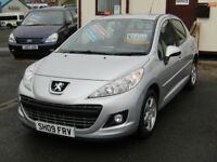 09/09 Peugeot 207 1.4 Sport 5dr, Silver.**29300 Miles, FSH, MOT'd March 2019, Outstanding Car**