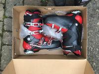 Salomon Mission RS ski boots size 9.5 (UK) used