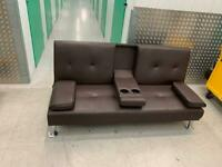 FREE DELIVERY click clack sofa bed