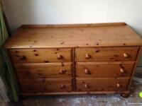 Chest of drawers - pine