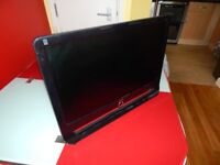 "AOC 22"" hd monitor black in full working condition"