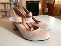Brand New Size 6 Nude Suede Shoes