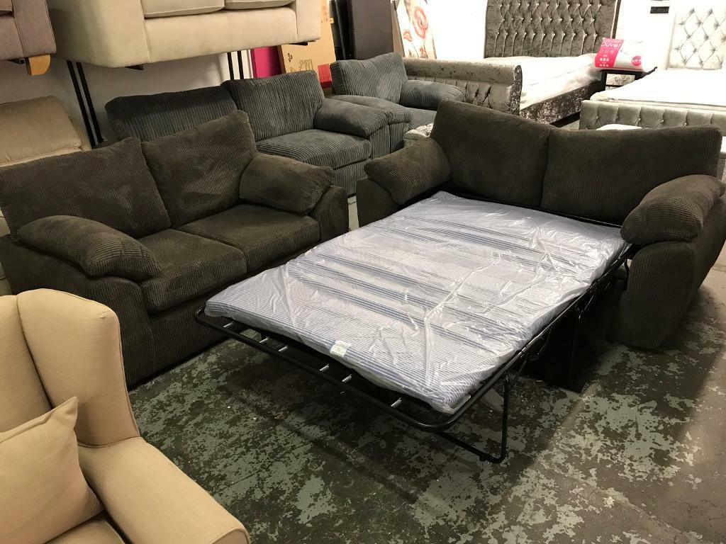 3 seater sofa bed 2 seater and chair