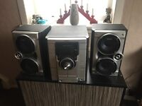 Sony HIFI with 3 disc changer, radio and cassette