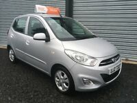 SEPT 2011 HYUNDAI i10 ACTIVE £20 ROAD TAX 12 MONTHS MOT 6 MONTHS WARRANTY ( FINANCE AVAILABLE )