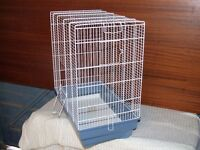 Bird cage. 560mm high x 300w x 500 deep.