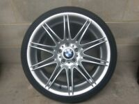 "BMW MV4 Front Alloy Wheel 19"" 5x120 8J Genuine #2"