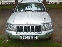 jeep grand cherreoke 2.7 turbo diesel automatic