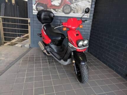2007 Yamaha BWS100 Bee Wee 100cc 2 Stroke