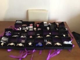 28 x ladies womens wrist watches all boxed with ribbons £18 Ono strata Genoa kessingland joblot