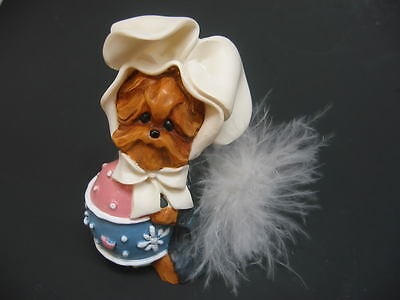 NEW CLEARANCE PRICE! Treasured Tail Yorkie Easter Bunny