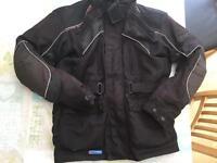 Frank Thomas motorbike jacket and trousers size large