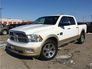 2011 Ram 1500 LARAMIE LONGHORN**DVD**LEATHER**SUNROOF**NAVIGATIO