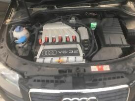 Audi A3 3.2 V6 Quattro s-line will swap for decent transit!