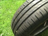 ONE,5 STUD,5 X 108 PCD,15 INCH,FORD/VOLVO ALLOY WHEEL,C/W EXCEL 195/65/15 TYRE