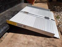 Lightweight Suitcase Ramp - Aluminium