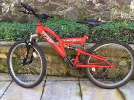 Mountain Bike - with suspension - £25