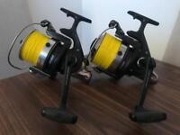 2 x daiwa emblem pro Spod reels carp fishing