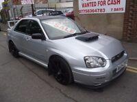 Subaru IMPREZA WRX Turbo,STI Spec 4x4,STI engine just been fully rebuilt with receipts,FSH,