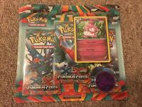 Brand new Pokémon XY trading cards booster pack