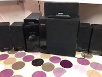Micro lab multimedia speaker system model fc360/5.1
