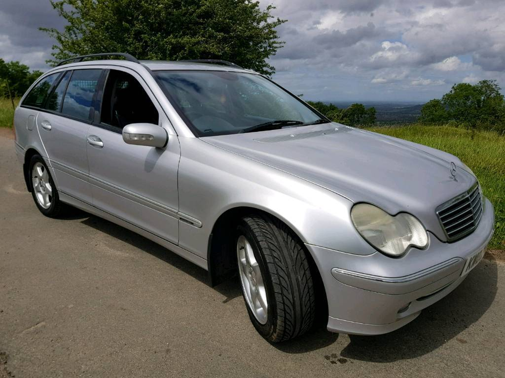 2002 mercedes c220 cdi avantgarde se diesel automatic estate 1 years mot service history 55. Black Bedroom Furniture Sets. Home Design Ideas