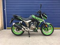2017 ZONTES SCORPION 125cc EFI , VERY LOW MILES , HPI CLEAR , JUST SERVICED, 8 MONTHS OLD