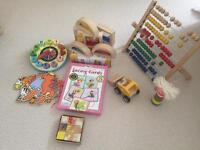 Wooden/traditional Toy Bundle