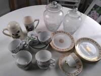 China sets / tea sets, vintage