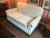 Vintage two settee settee in immaculate condition