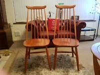 Two Ercol style Chairs