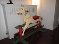 rocking horse baby nursery furniture teddington collection