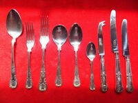 Cutlery Set, 8 Person, Silver Plated