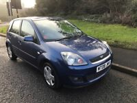 Ford Fiesta 1.4 Ghia. 5 door. 12 Months MOT. In VERY GOOD CONDITION inside and out. Runs great
