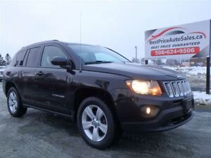 2015 Jeep Compass SPORT! NORTH! 4X4! HEATED SEATS! CERTIFIED! AU