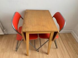 2 peoples folding dining table